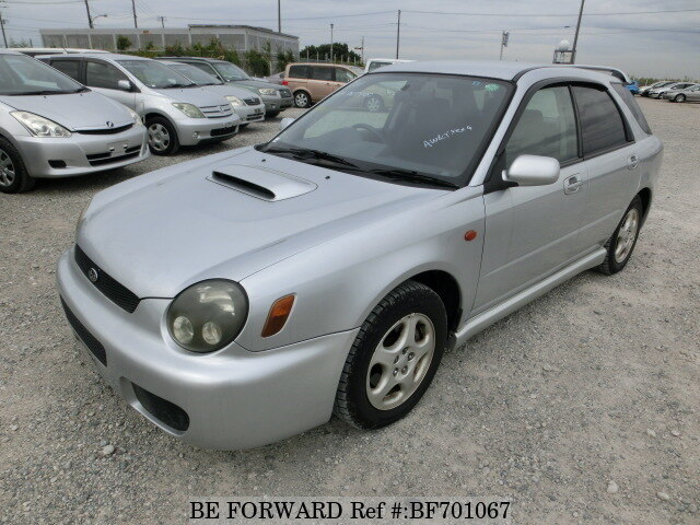 Used 2002 SUBARU IMPREZA SPORTSWAGON TYPE EURO TURBO/TA-GGA for Sale