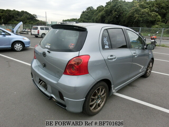 used 2006 toyota vitz rs dba ncp91 for sale bf701626   be
