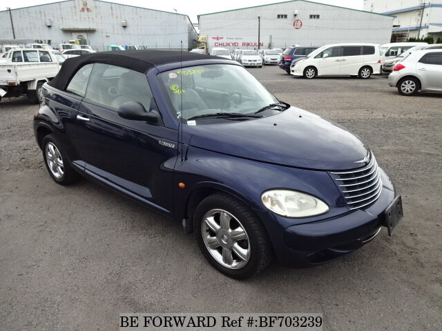 2004 chrysler pt cruiser cabrio limited gh pt2k24 bf703239. Black Bedroom Furniture Sets. Home Design Ideas