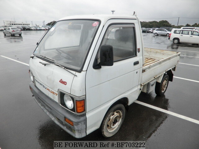 Used 1990 DAIHATSU HIJET TRUCK/M-S81P for Sale BF703222 - BE