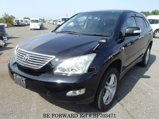 used 2007 toyota harrier 240g l package cba acu35w for sale bf703471 rh beforward jp Toyota Harrier 2003 Toyota Harrier 2002