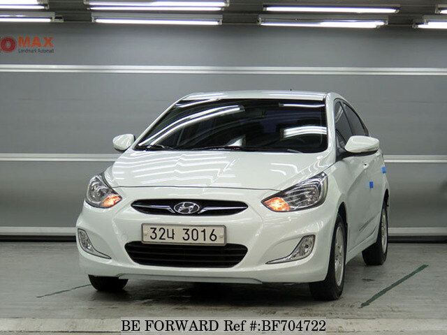 Used 2013 HYUNDAI ACCENT BF704722 For Sale