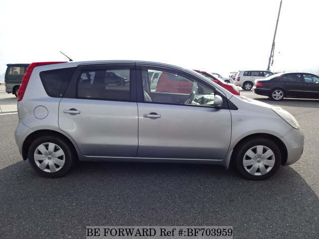 used 2006 nissan note dba e11 for sale bf703959 be forward. Black Bedroom Furniture Sets. Home Design Ideas