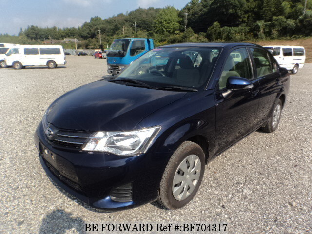 Used 2015 TOYOTA COROLLA AXIO BF704317 for Sale
