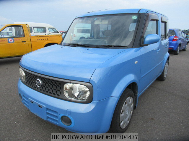 used 2007 nissan cube 15m dba yz11 for sale bf704477 be forward. Black Bedroom Furniture Sets. Home Design Ideas