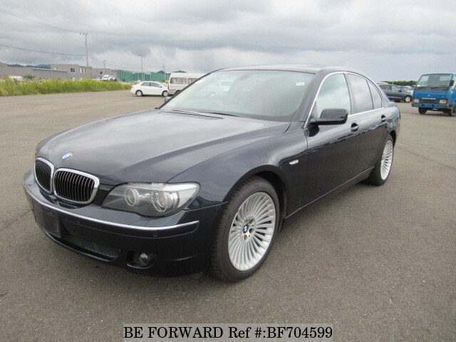 Used 2007 Bmw 7 Series 740i Aba Hl40 For Sale Bf704599 Be Forward