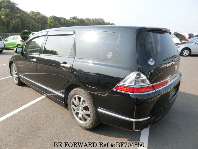 used 2008 honda odyssey m hdd navi special edition dba rb1 for sale bf704850 be forward. Black Bedroom Furniture Sets. Home Design Ideas