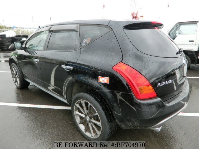 used 2004 nissan murano 350xv cba pz50 for sale bf704970 be forward. Black Bedroom Furniture Sets. Home Design Ideas