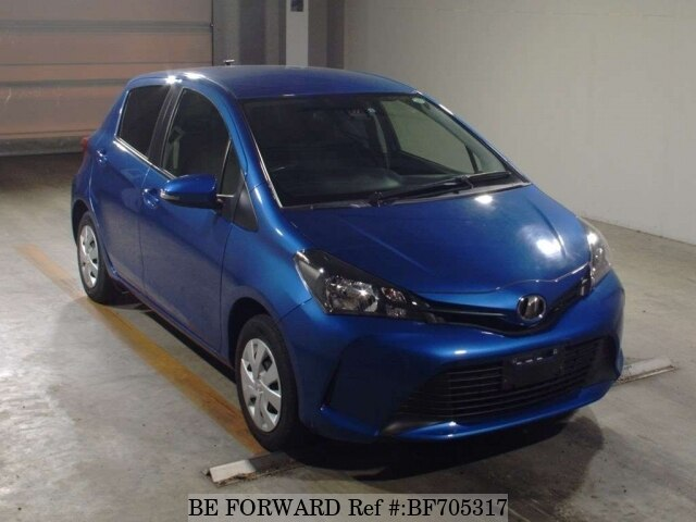 Used 2015 TOYOTA VITZ BF705317 for Sale