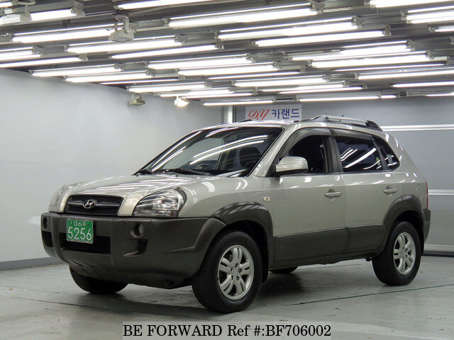 used 2006 hyundai tucson mx for sale bf706002 be forward. Black Bedroom Furniture Sets. Home Design Ideas