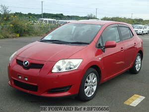 Used 2007 TOYOTA AURIS BF705656 for Sale