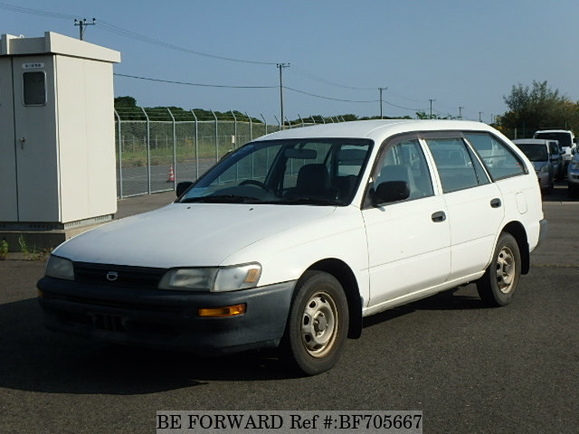 Used 1999 TOYOTA COROLLA VAN BF705667 for Sale