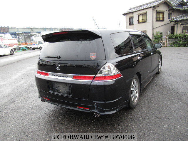used 2008 honda odyssey m aero hdd navi special edition dba rb1 for sale bf706964 be forward. Black Bedroom Furniture Sets. Home Design Ideas