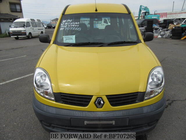 Used 2006 RENAULT KANGOO/GH-KCK4M for Sale BF707268 - BE FORWARD
