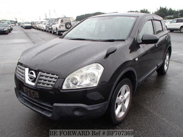 Nissan Dualis 2008 Black