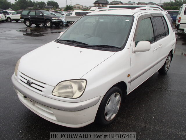 used 1998 toyota raum e exz10 for sale bf707467 be forward rh beforward jp Toyota Raum 2008 Toyota Raum 2006