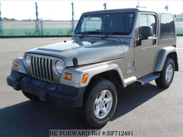 Used 2004 JEEP WRANGLER BF712491 For Sale