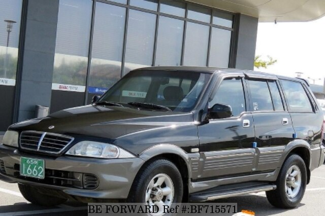 Used 2004 SSANGYONG MUSSO BF715571 for Sale