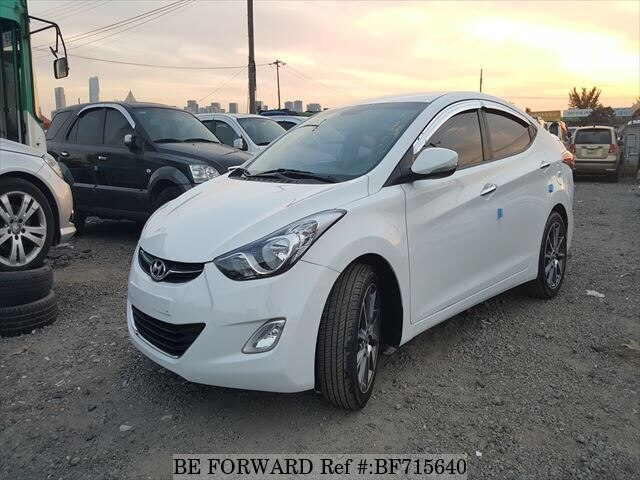 Used 2011 Hyundai Avante Elantra For Sale Bf715640 Be Forward