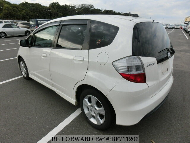 used 2009 honda fit rs dba ge8 for sale bf711206 be forward. Black Bedroom Furniture Sets. Home Design Ideas