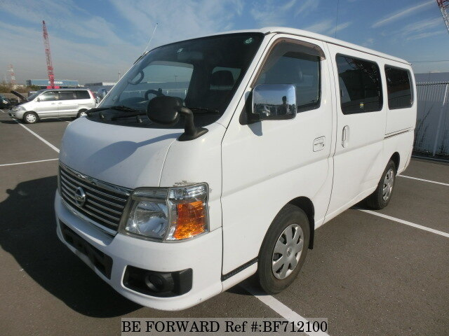 Used 2009 Nissan Caravan Van Transporter Adf Vwme25 For Sale
