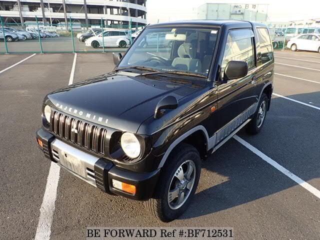 подержанные 1998 Mitsubishi Pajero Mini Duke E H51a на продажу