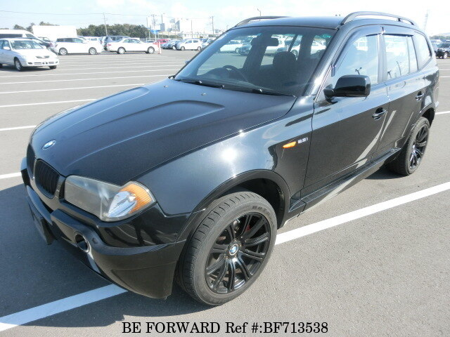 Used 2005 BMW X3 2.5I/GH-PA25 for Sale BF713538 - BE FORWARD