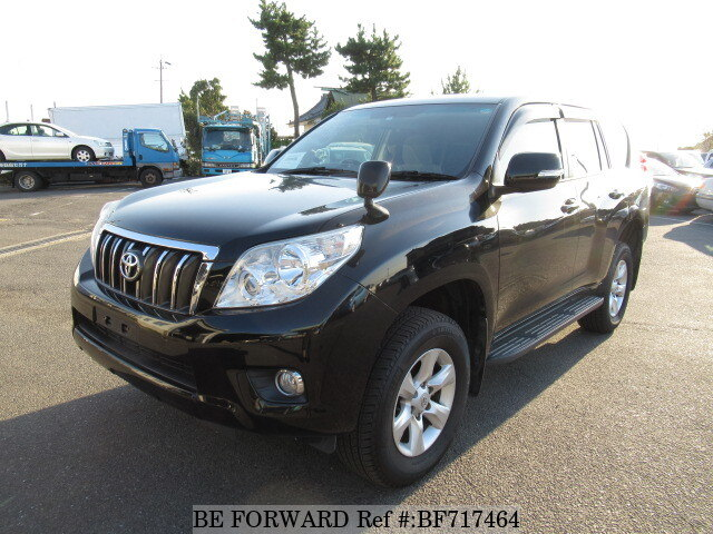 Used 2012 TOYOTA LAND CRUISER PRADO BF717464 For Sale
