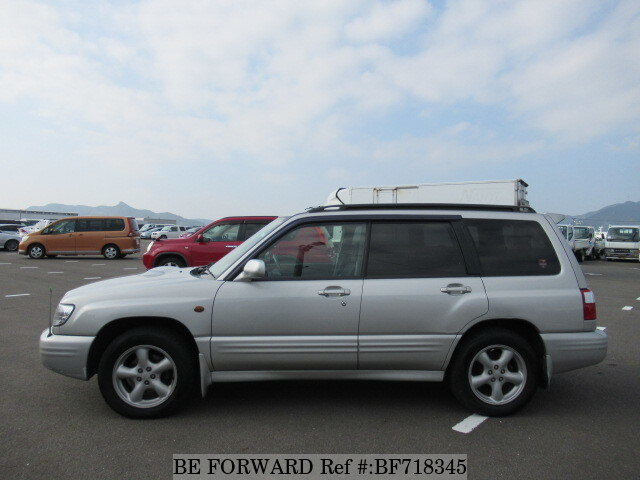 used 2000 subaru forester s tb gf sf5 for sale bf718345 be forward. Black Bedroom Furniture Sets. Home Design Ideas