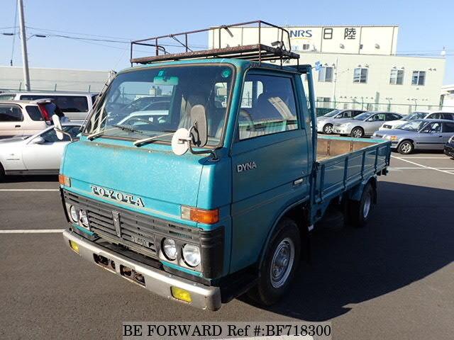 used 1980 toyota dyna truck k bu20 for sale bf718300 be forward. Black Bedroom Furniture Sets. Home Design Ideas