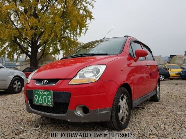 Used 2007 DAEWOO MATIZ SE for Sale BF720072 - BE FORWARD
