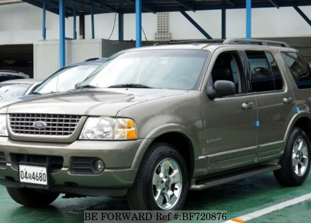 Used 2002 Ford Explorer Bf720876 For