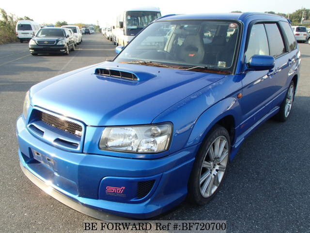 used 2004 subaru forester sti version ta sg9 for sale bf720700 be forward. Black Bedroom Furniture Sets. Home Design Ideas