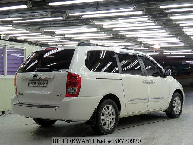 Used 2010 Kia Carnival Glx For Sale Bf720920 Be Forward