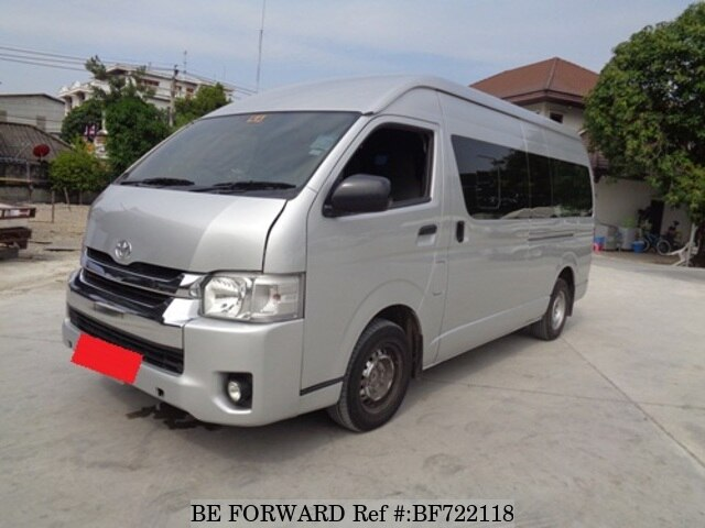 f236be065c Used 2014 TOYOTA HIACE COMMUTER 3.0 KDH222RLEMDYT for Sale BF722118 ...