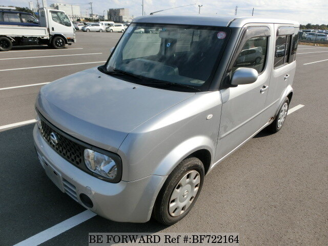 Used 2008 NISSAN CUBE BF722164 for Sale