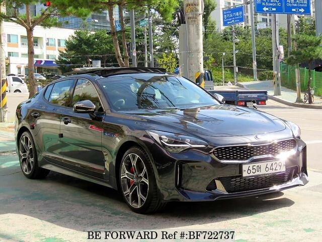used 2017 kia stinger for sale bf722737 be forward. Black Bedroom Furniture Sets. Home Design Ideas