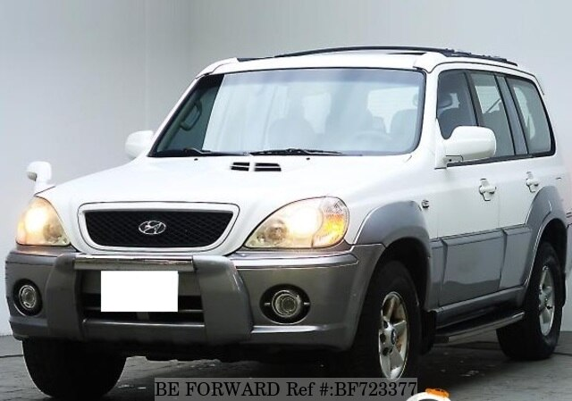 2003 hyundai terracan d 39 occasion en promotion bf723377 be forward. Black Bedroom Furniture Sets. Home Design Ideas