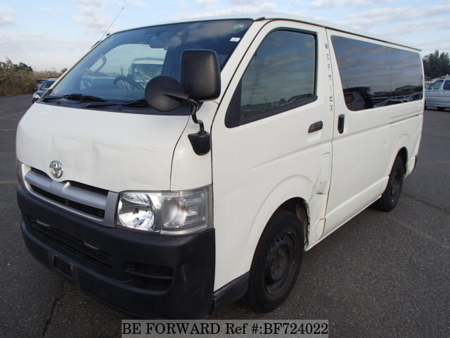 Used 2005 TOYOTA HIACE VAN BF724022 for Sale