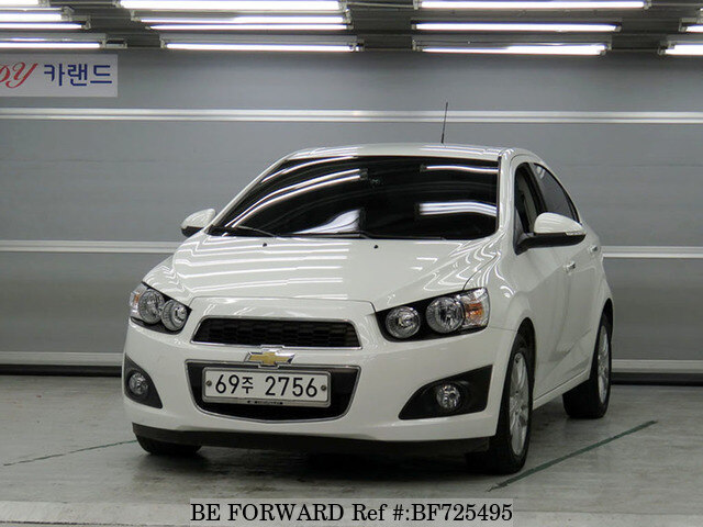Used 2014 Chevrolet Aveo For Sale Bf725495 Be Forward