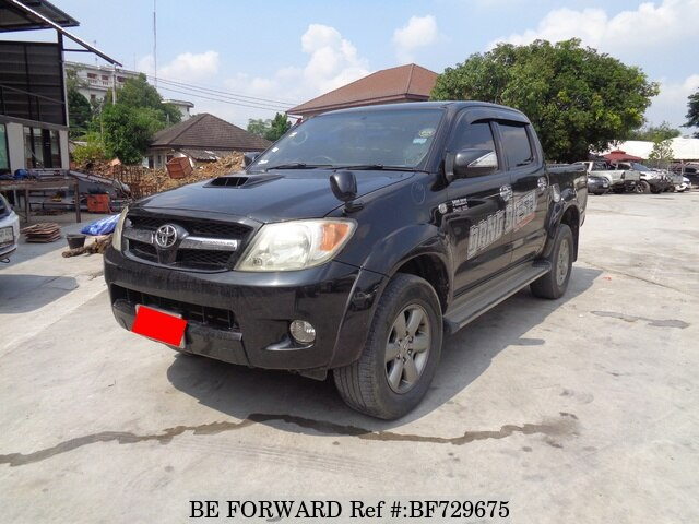 2006 toyota hilux 3 0g double cab kun26r prpsyt d 39 occasion en promotion bf729675 be forward. Black Bedroom Furniture Sets. Home Design Ideas
