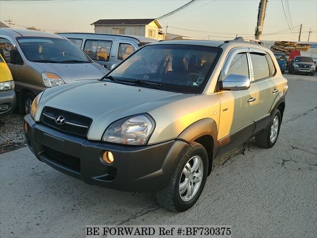used 2006 hyundai tucson mx for sale bf730375 be forward. Black Bedroom Furniture Sets. Home Design Ideas