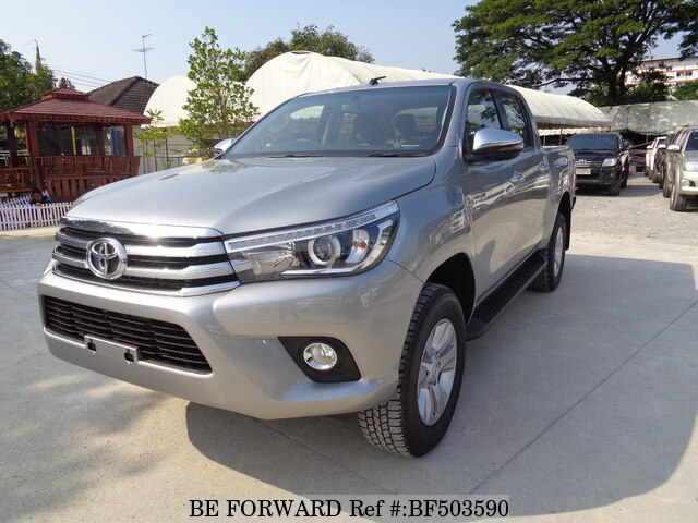 Used 2017 TOYOTA HILUX 4x4 Double Cab 2 8/TGN136R-DTTSKT for