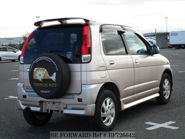 2002 daihatsu terios kid custom memorial ta j131g d 39 occasion en promotion bf726642 be forward. Black Bedroom Furniture Sets. Home Design Ideas