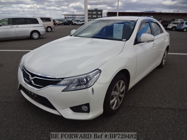 Used 2015 Toyota Mark X 250g F Package Dba Grx130 For Sale Bf729482 Be Forward