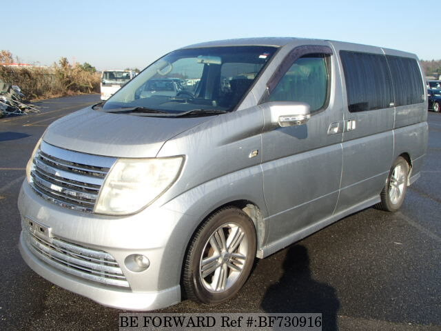 Used 2004 NISSAN ELGRAND RIDER/CBA-E51 for Sale BF730916 - BE FORWARD