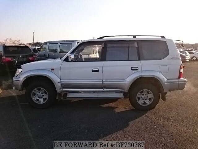 used 1998 toyota land cruiser prado tx limited wide e rzj95w for sale bf730787 be forward. Black Bedroom Furniture Sets. Home Design Ideas