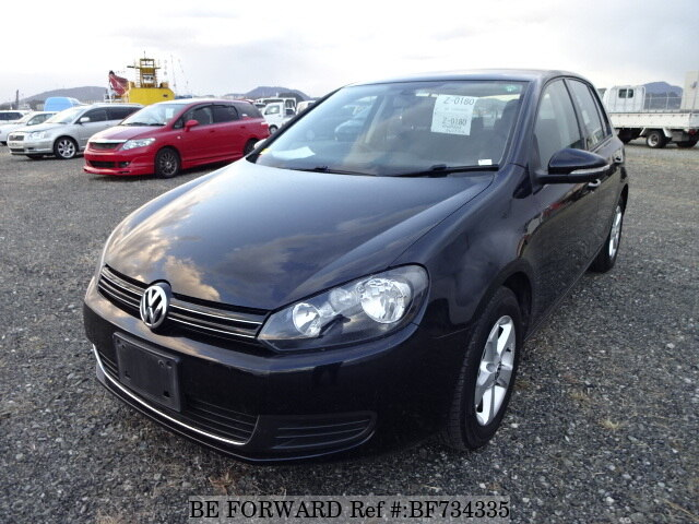 Used 2011 Volkswagen Golf Tsi Trend Linedba 1kcbz For Sale Bf734335