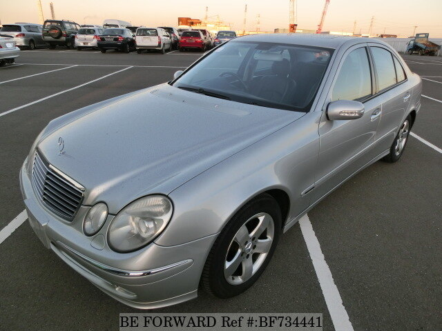 Used 2003 MERCEDES-BENZ E-CLASS BF734441 for Sale