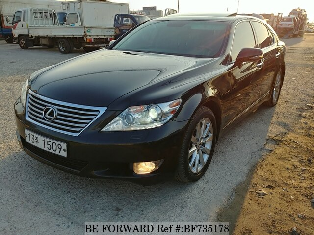 Used 2012 Lexus Ls Ls460 For Sale Bf735178 Be Forward